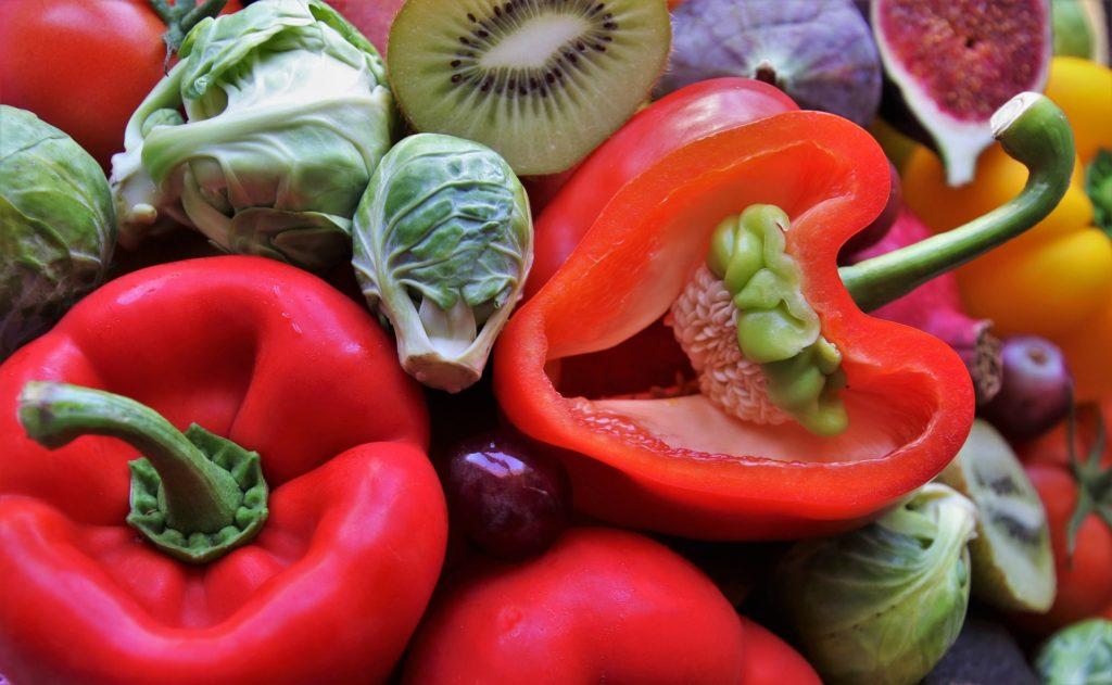 【野菜の栄養素】パプリカの色の違い。それに伴う栄養素の違い。